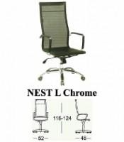 Kursi Direktur & Manager Subaru Type Nest L Chrome
