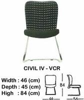 Kursi Hadap Indachi Civil IV-VCR