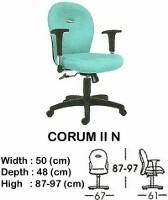 Kursi Staff & Sekretaris Indachi Corum II N