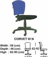Kursi Staff & Sekretaris Indachi Corvet III N
