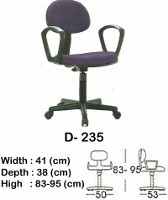 Kursi Staff & Sekretaris Indachi D-235