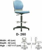 Kursi Staff & Sekretaris Indachi D-260