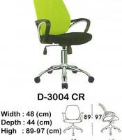 Kursi Staff & Sekretaris Indachi D-3004 CR