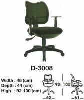 Kursi Staff & Sekretaris Indachi D-3008
