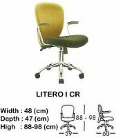 Kursi Staff & Sekretaris Indachi Litero I CR