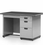 Single Pedestal Desk Alba Type SP–401–L (½ Biro)