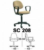 Kursi Sekretaris Chairman Type SC 208