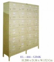Locker 24 Pintu Elite Type EL-466-GD4K