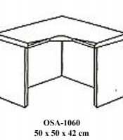 Meja Penyambung Resepsionis Orbitrend Type OSA-1060
