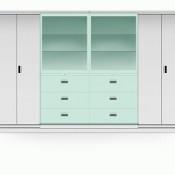Multifile Cabinet System Alba MFC SDG – 360 (Kaca Sliding)
