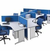 Konfigurasi 5 Orang (Warna Biru)