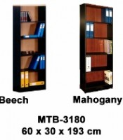 Rak Buku Besar Tanpa Pintu Type MTB-3180
