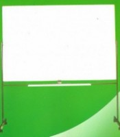 Papan Tulis (Whiteboard) Sakana Single Face (Stand) 120 x 180 cm